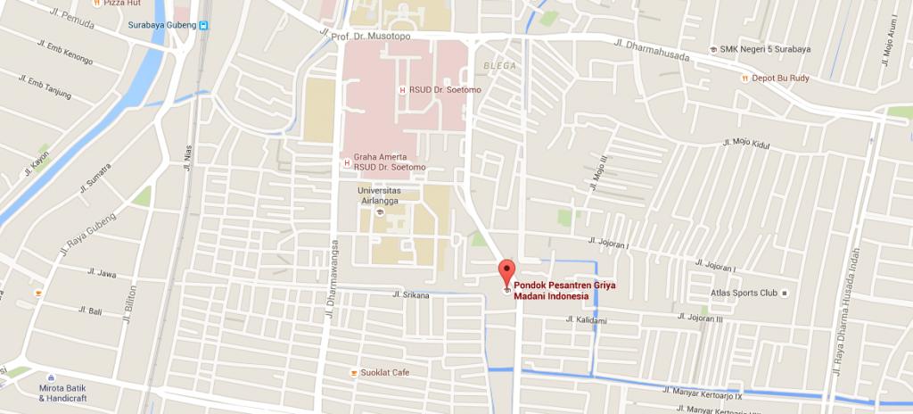 Peta Lokasi Griya Madani Indonesia